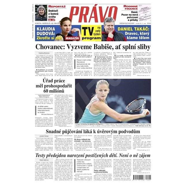 Právo - 21-02-2015 - Elektronické noviny