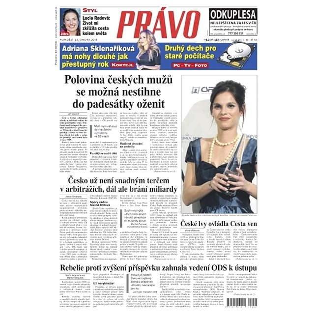 Právo - 23-02-2015 - Elektronické noviny