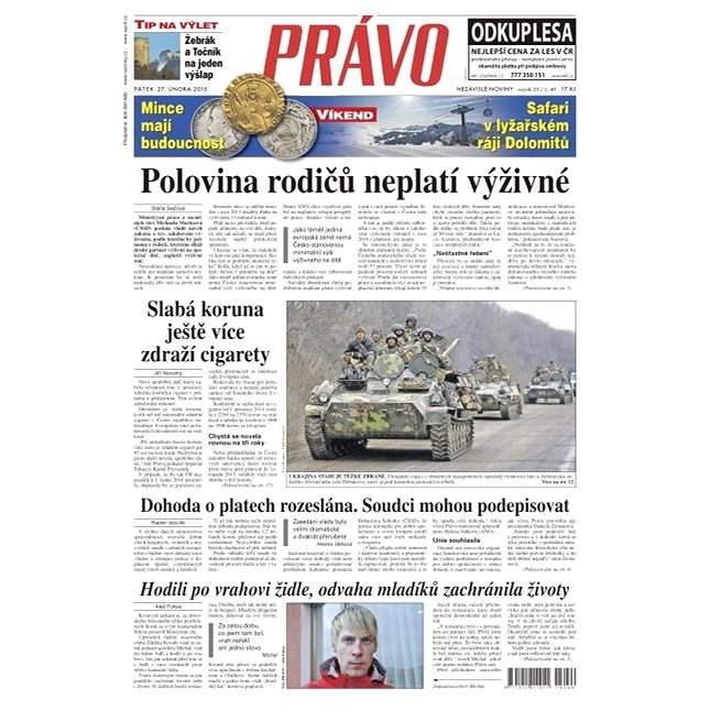Právo - 27-02-2015 - Elektronické noviny