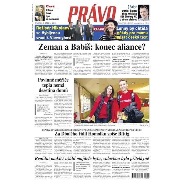 Právo - 05-03-2015 - Elektronické noviny