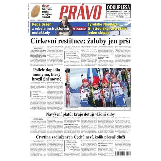Právo - 06-03-2015 - Elektronické noviny