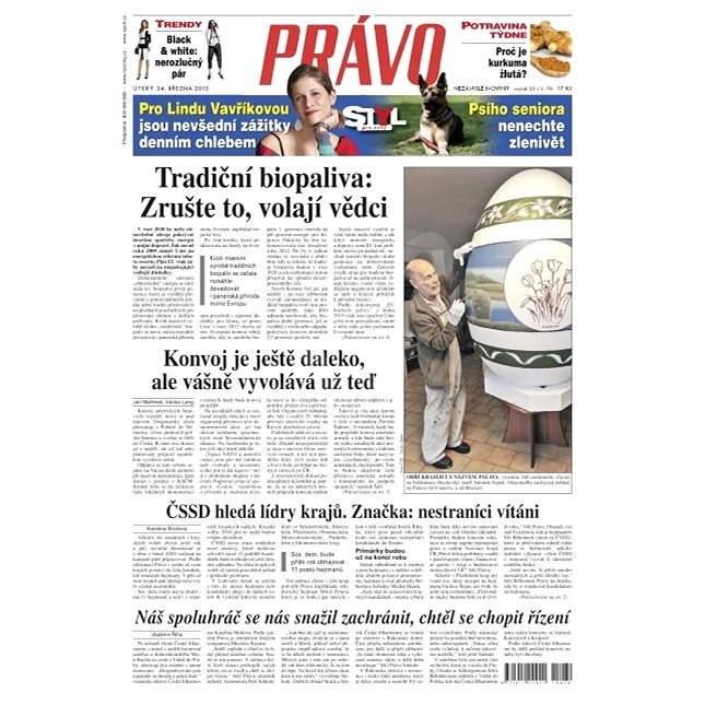 Právo - 24-03-2015 - Elektronické noviny