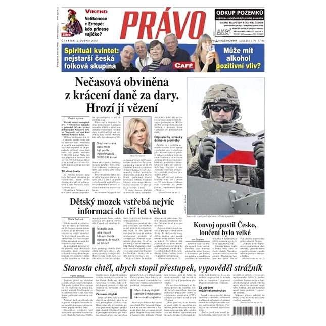 Právo - 02-04-2015 - Elektronické noviny