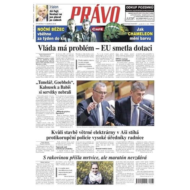 Právo - 09-04-2015 - Elektronické noviny