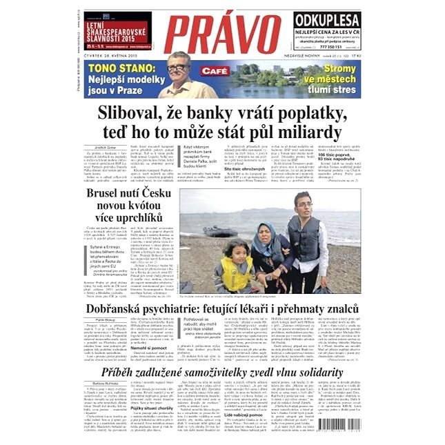 Právo - 28-05-2015 - Elektronické noviny