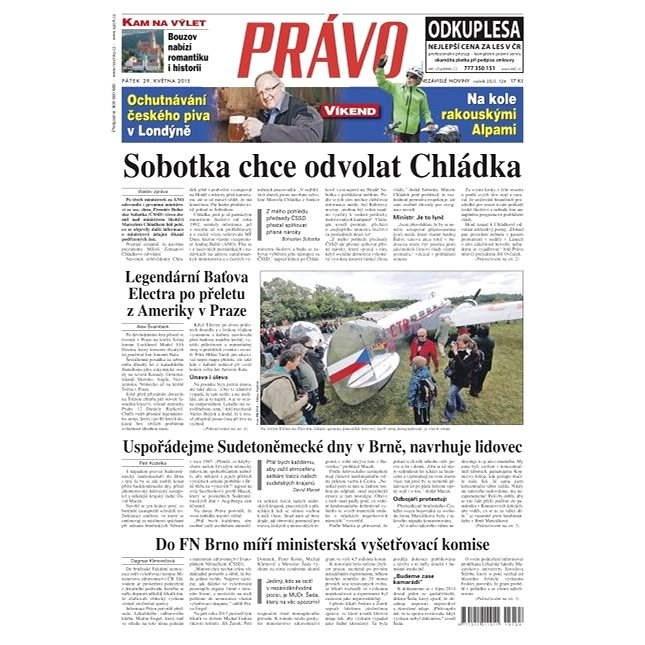 Právo - 29-05-2015 - Elektronické noviny
