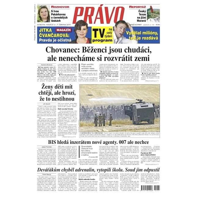 Právo - 06-06-2015 - Elektronické noviny