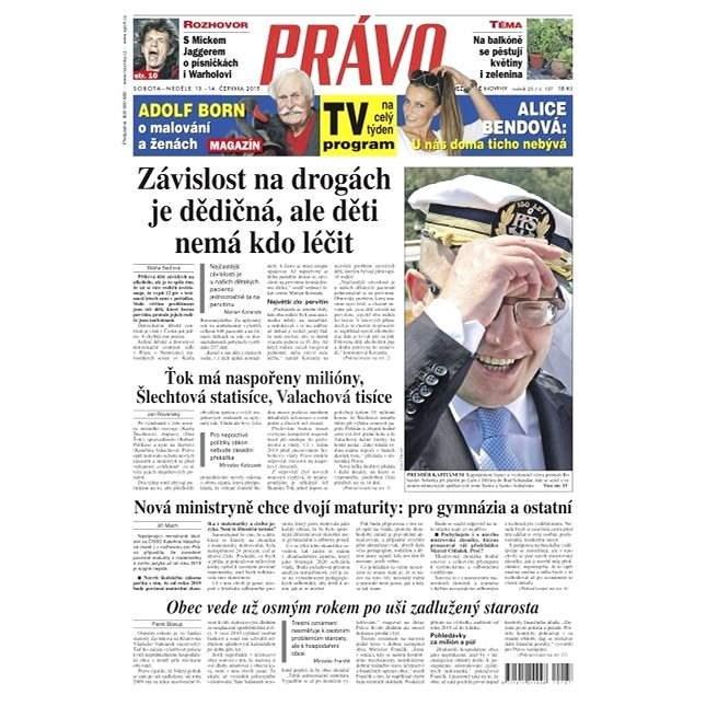 Právo - 13-06-2015 - Elektronické noviny