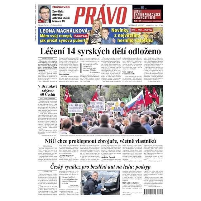 Právo - 22-06-2015 - Elektronické noviny