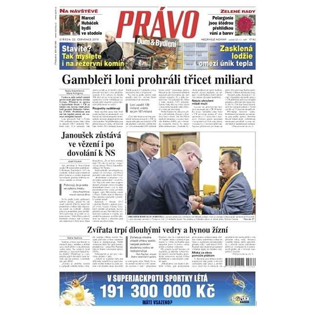 Právo - 22-07-2015 - Elektronické noviny