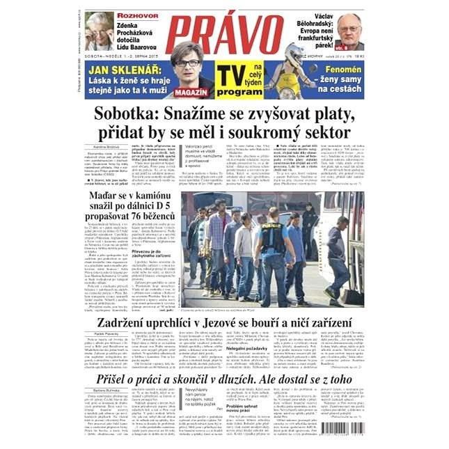 Právo - 01-08-2015 - Elektronické noviny