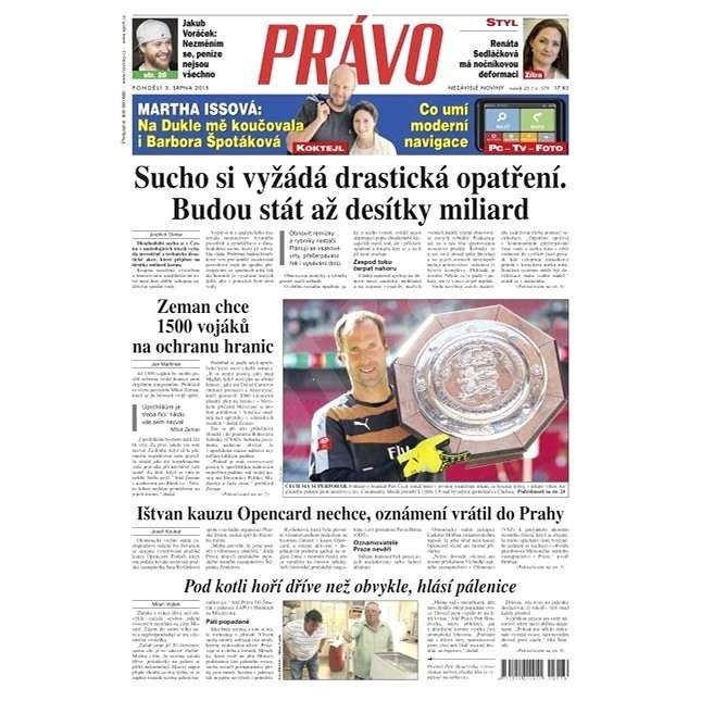 Právo - 03-08-2015 - Elektronické noviny
