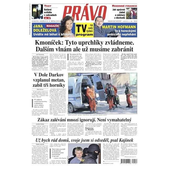 Právo - 08-08-2015 - Elektronické noviny