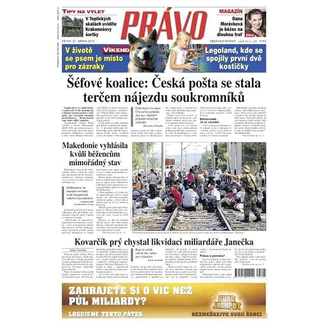 Právo - 21-08-2015 - Elektronické noviny