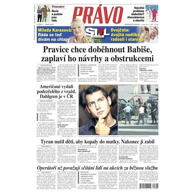 Právo - 01-09-2015 - Elektronické noviny