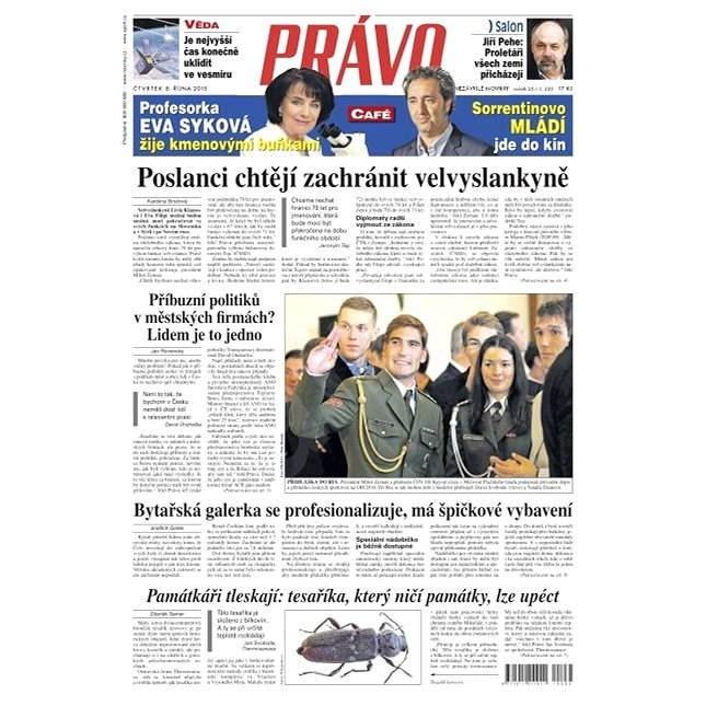 Právo - 08-10-2015 - Elektronické noviny