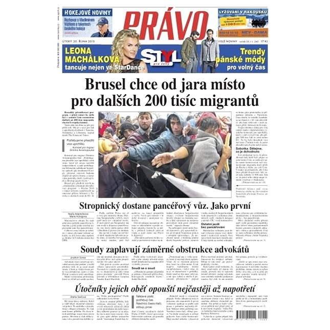 Právo - 20-10-2015 - Elektronické noviny