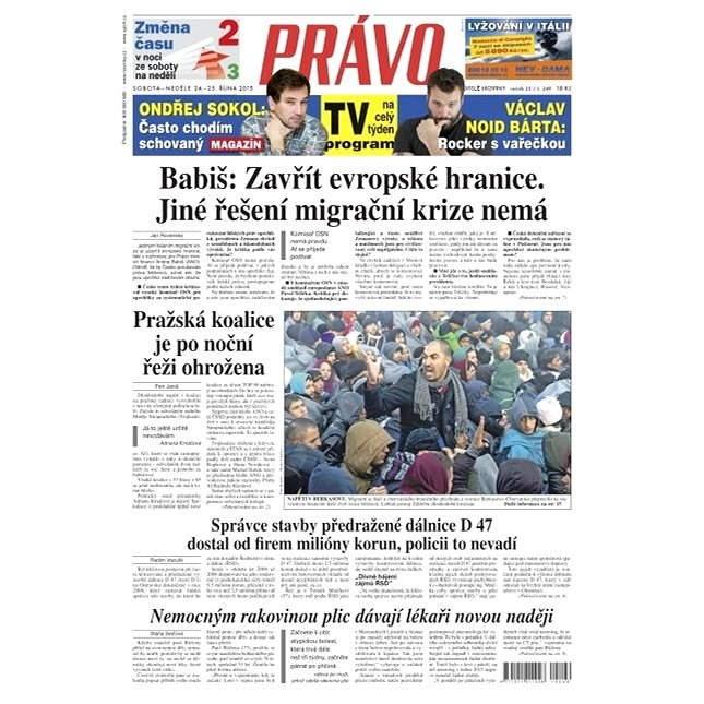 Právo - 24-10-2015 - Elektronické noviny