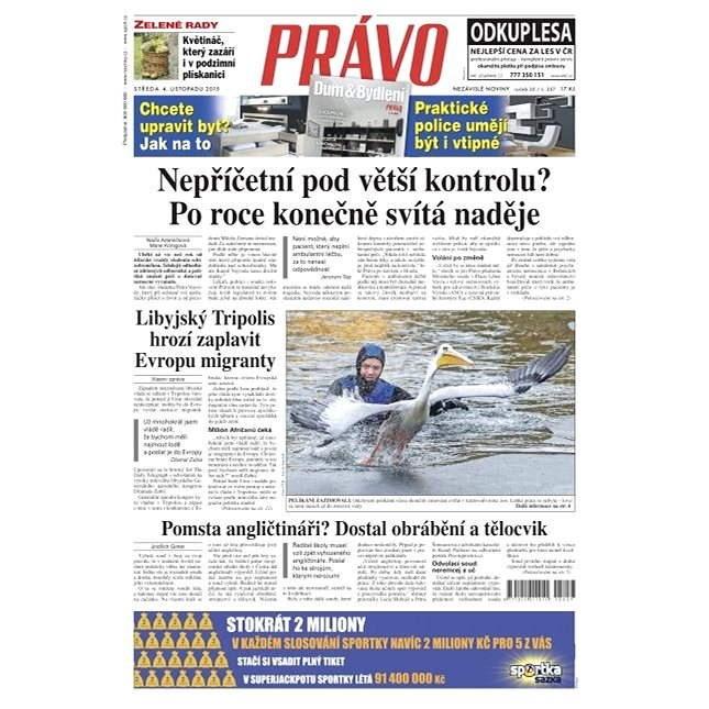 Právo - 04-11-2015 - Elektronické noviny
