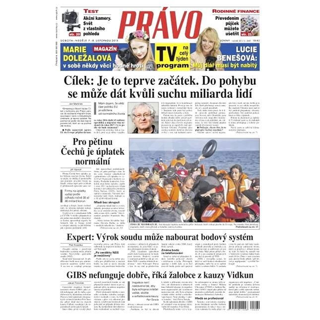 Právo - 07-11-2015 - Elektronické noviny