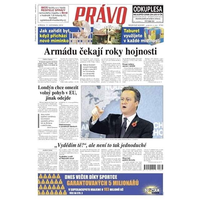 Právo - 11-11-2015 - Elektronické noviny