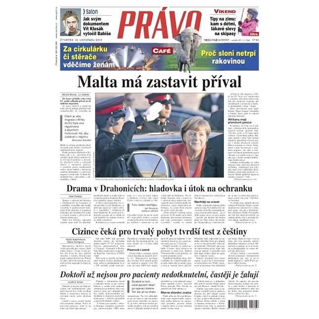 Právo - 12-11-2015 - Elektronické noviny
