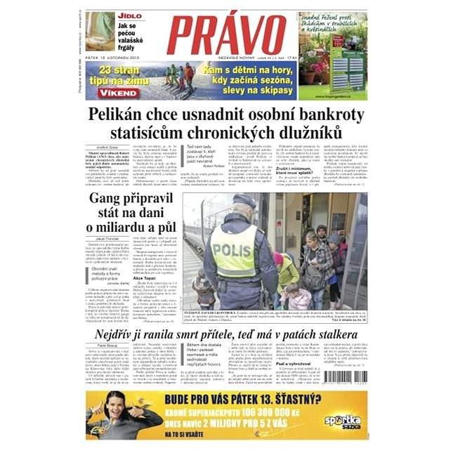Právo - 13-11-2015 - Elektronické noviny