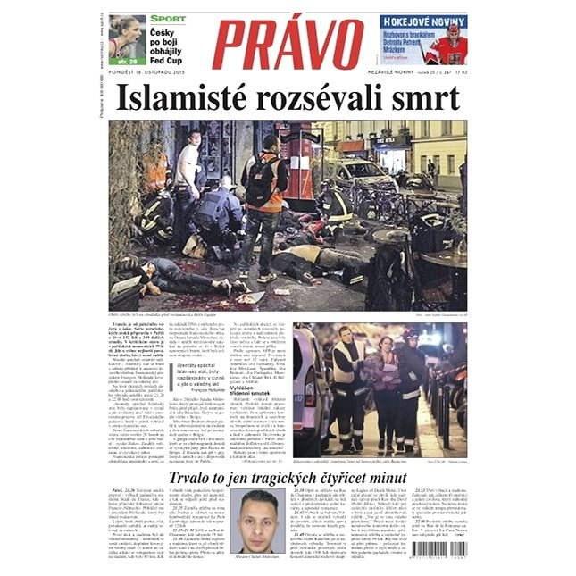 Právo - 16-11-2015 - Elektronické noviny