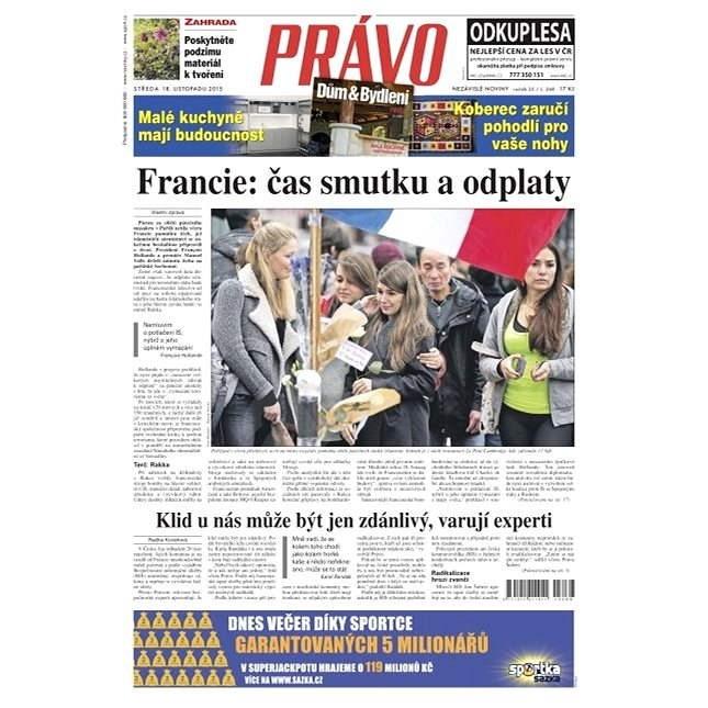 Právo - 18-11-2015 - Elektronické noviny