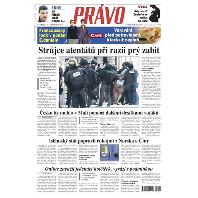 Právo - 19-11-2015 - Elektronické noviny