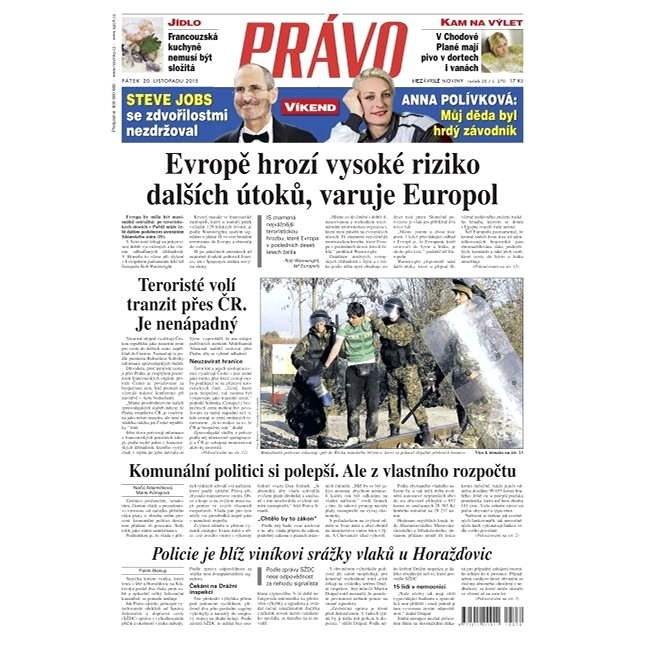 Právo - 20-11-2015 - Elektronické noviny