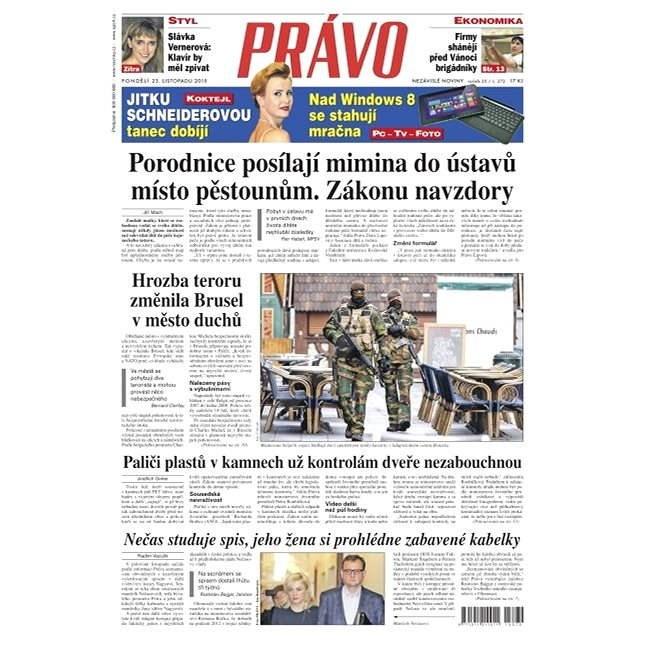 Právo - 23-11-2015 - Elektronické noviny