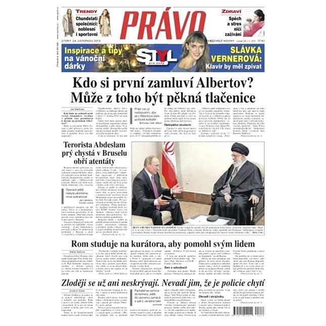Právo - 24-11-2015 - Elektronické noviny