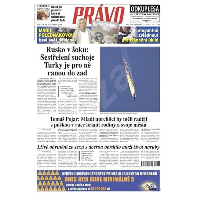 Právo - 25-11-2015 - Elektronické noviny