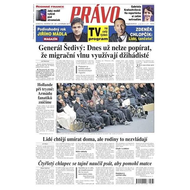 Právo - 28-11-2015 - Elektronické noviny