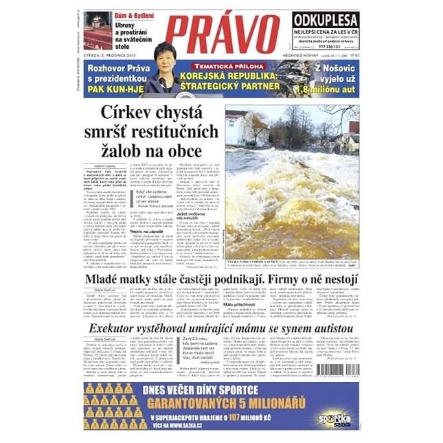 Právo - 02-12-2015 - Elektronické noviny