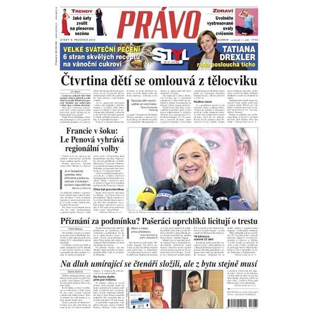 Právo - 08-12-2015 - Elektronické noviny