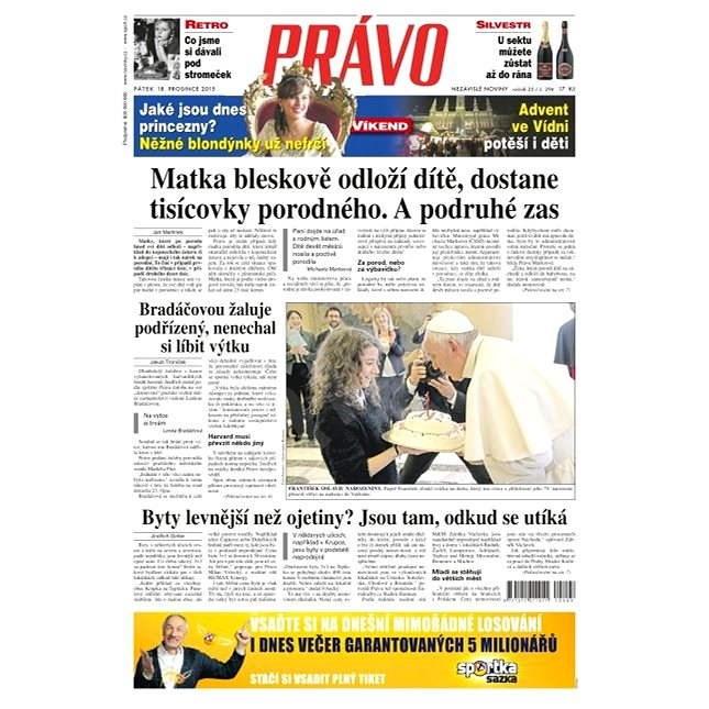 Právo - 18-12-2015 - Elektronické noviny