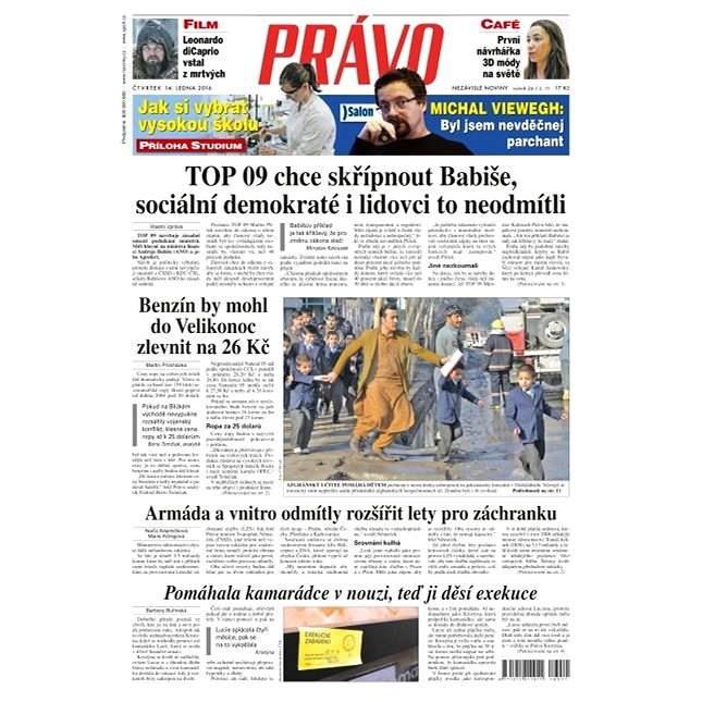 Právo - 14-01-2016 - Elektronické noviny
