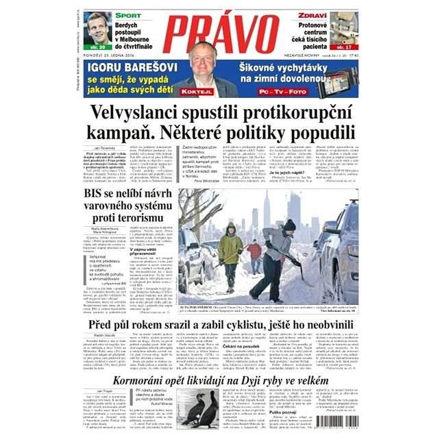 Právo - 25-01-2016 - Elektronické noviny