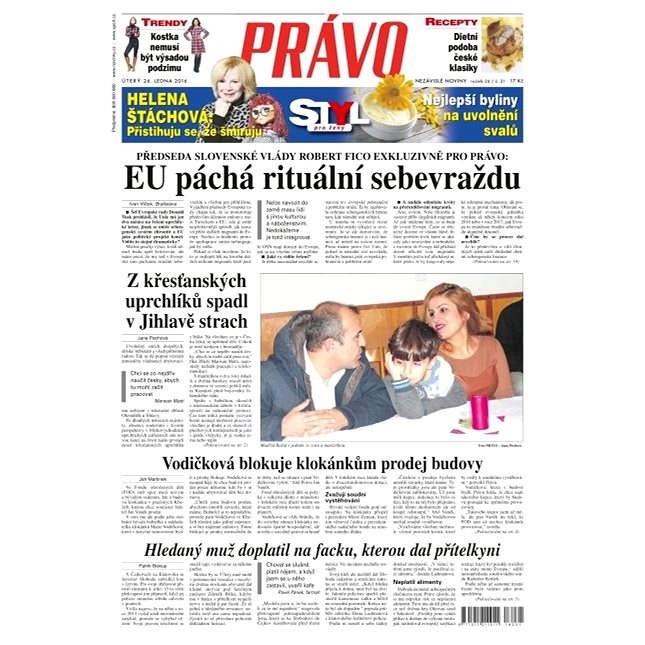 Právo - 26-01-2016 - Elektronické noviny
