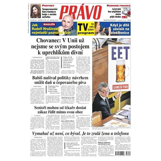 Právo - 30-01-2016 - Elektronické noviny