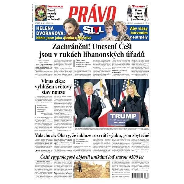 Právo - 02-02-2016 - Elektronické noviny