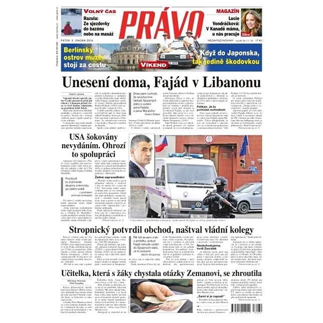 Právo - 05-02-2016 - Elektronické noviny