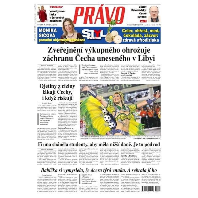 Právo - 09-02-2016 - Elektronické noviny