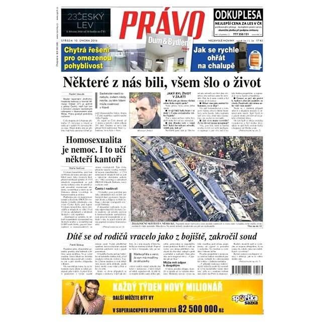Právo - 10-02-2016 - Elektronické noviny
