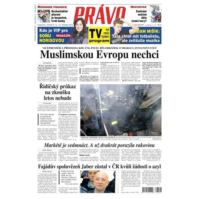 Právo - 13-02-2016 - Elektronické noviny
