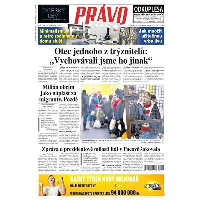 Právo - 17-02-2016 - Elektronické noviny