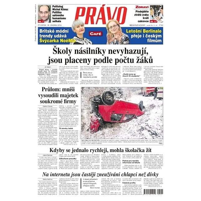 Právo - 18-02-2016 - Elektronické noviny