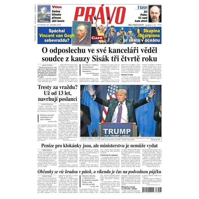 Právo - 25-02-2016 - Elektronické noviny